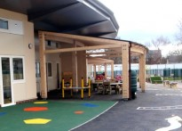 Park Community Primary School - Timber Canopy - 2nd Installation