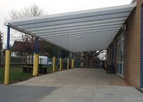 The Rofft School - Wall Mounted Canopy - Fourth Installation