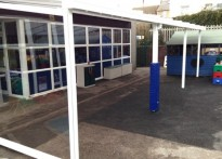 George Street Primary School - Wall Mounted Canopy