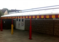 Our Lady's Pre School, Birmingham - Wall Mounted Canopy