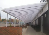 Hillview School for Girls - Wall Mounted Canopy