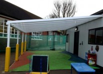 Summerside Primary School - Wall Mounted Canopy