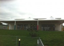 Underhill Infant School - Free Standing Tensile Fabric Canopy