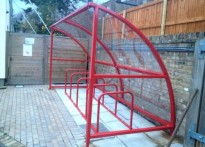 St Quintin Centre for Disabled Children & Young People - Cycle Shelter