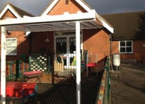 Shipbourne School - Wall Mounted Canopy