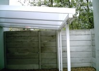 Wrexham Maelor Hospital - Wall Mounted Canopy