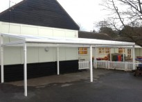 Sidmouth Primary School - Free Standing Canopy