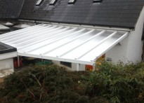 Ugborough Primary School - Wall Mounted Canopy