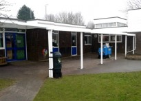 Locking Primary School - Wall Mounted Canopy