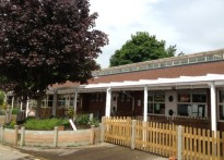 Holmesdale Infant School - 2nd Wall Mounted Canopy