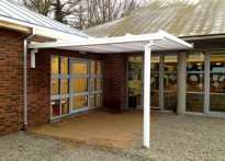 Lullingstone Country Park - Wall Mounted Entrance Canopy