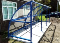 Willows Clinic - Buggy Shelter