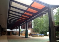 Prior Weston Primary School - Free Standing Canopy