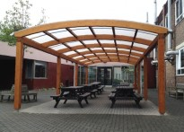 Carshalton High School for Girls - First Timber Canopy