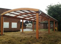 Carshalton High School for Girls - Second Timber Canopy