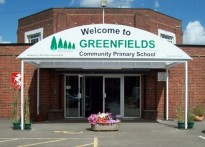 Greenfields Community Primary School - Entrance Canopy