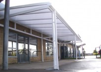 Rufford Park Primary School - Free Standing Canopy