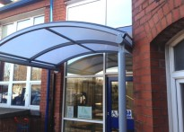 Plodder Lane Primary School - Entrance Canopy