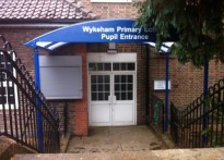 Wykeham Primary School - 1st Entrance Canopy