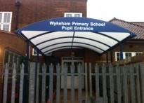 Wykeham Primary School - 2nd Entrance Canopy