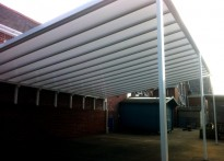 Launceston Primary School - Wall Mounted Canopy