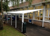 Portland Primary School - 2nd Wall Mounted Canopy