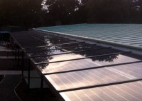 Capel Manor Primary School - Bespoke Solar Canopy