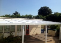 Icknield Infant & Nursery School - 2nd Wall Mounted Canopy