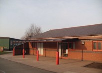 Ysgol Plas Coch County Primary School - Wall Mounted Canopy - Fourth Installation