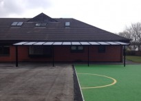 Stansfield Day Care Centre - Wall Mounted Canopy