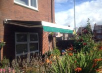 Erw Gerrig Sheltered Housing Unit - Commercial Awnings