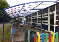 Ashfield Park Primary School - Free Standing Canopy