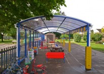 How Wood Primary School - Free Standing Canopy