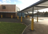 Roding Primary School - Free Standing Canopy