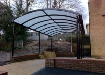 St Bernadettes RC Primary School - Free Standing Canopy