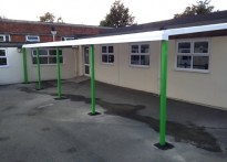 Montpelier Primary School - 2nd Wall Mounted Canopy