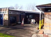 Catherine Infant School - Second Wall Mounted Canopy
