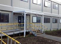 Newcastle College - 3rd Wall Mounted Entrance Canopy