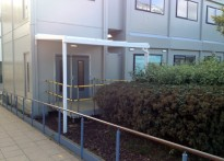 Newcastle College - 5th Wall Mounted Entrance Canopy