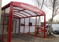 Wexham Hospital - Entrance Canopy