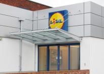 Lidl - Wall Mounted Entrance Canopy