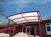 Sir Henry Fermor CE Primary School - Entrance Canopy