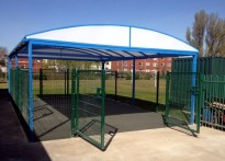 Sincil Sports College - Free Standing Canopy