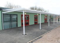 The Chalet School - 3rd Wall Mounted Canopy