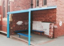 Rhosddu Primary School - 2nd Wall Mounted Canopy