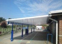 The Brook School - Wall Mounted Canopy