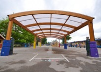 Wexham Court Primary School - Timber Canopy