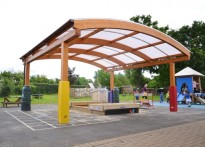 Wexham Court Primary School - Second Timber Canopy