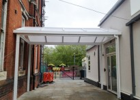 St John's Primary School - Free Standing Canopy