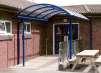 St Vincent De Paul RC Primary School - Entrance Canopy